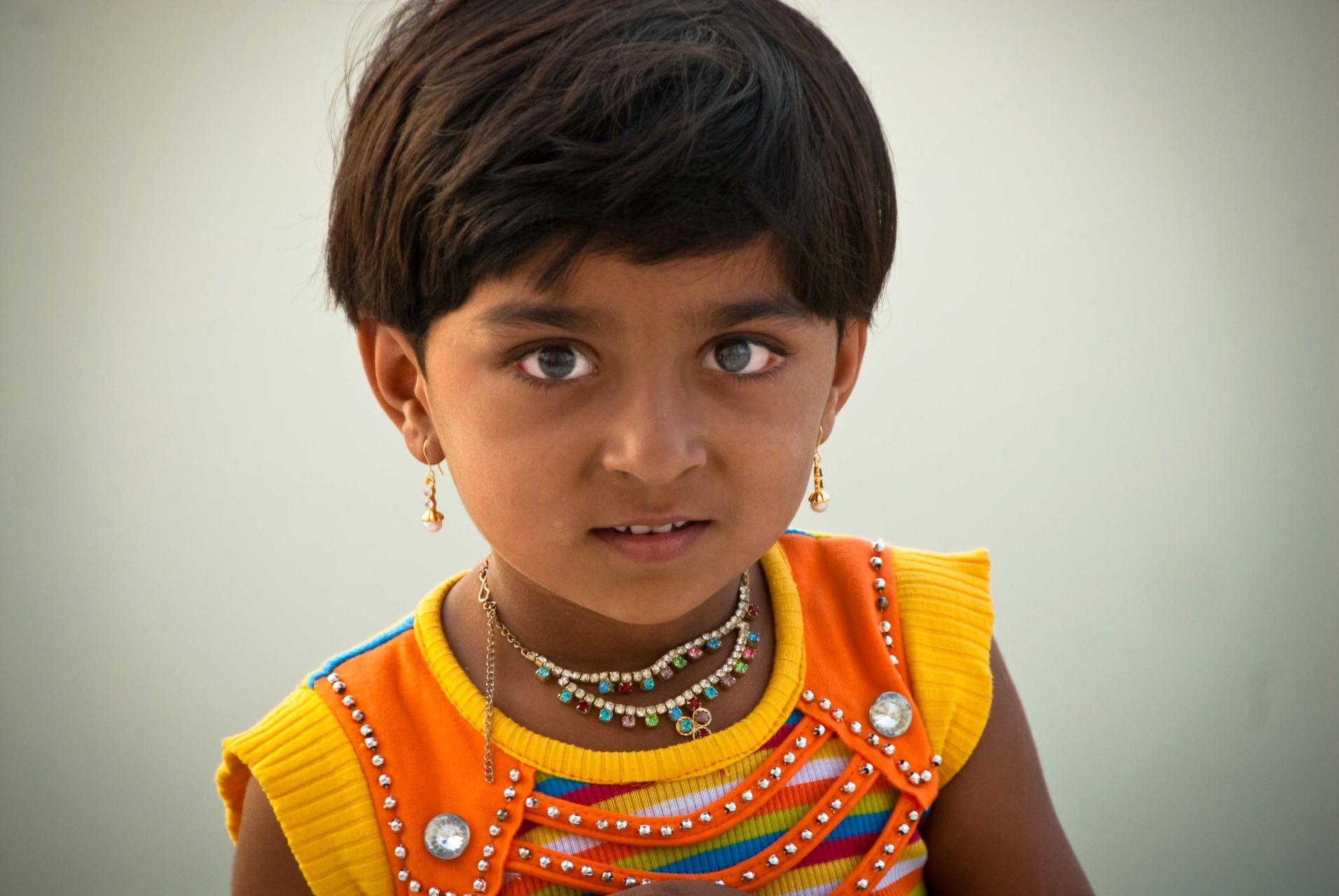 Young girl in Uttar Pradesh